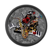 Piece of My Heart Large Wall Clock