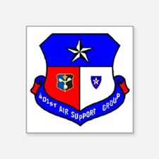 "401st ASG TXSG Square Sticker 3"" x 3"""