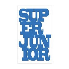 Super Junior Bumper Stickers