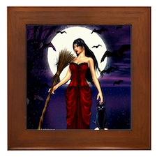 Under a Pagan Moon Framed Tile