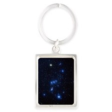 Orion constellation Portrait Keychain