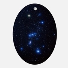 Orion constellation Oval Ornament