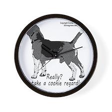 beagle nosework nathan  Wall Clock