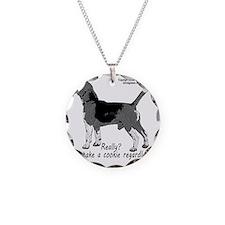 beagle nosework nathan  Necklace Circle Charm