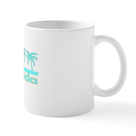 Florida Turquoise Palm Mug