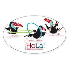 toucans hoopin logo 2 Decal
