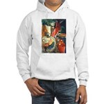 Still Life w/Bottle by Elsie Hooded Sweatshirt