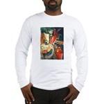 Still Life w/Bottle by Elsie Long Sleeve T-Shirt