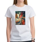 Still Life w/Bottle by Elsie Women's T-Shirt