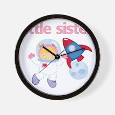 Astronaut Little Sister Wall Clock