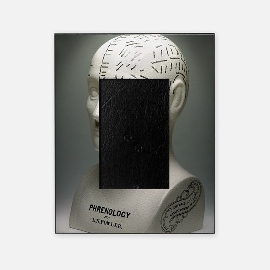 Phrenology bust Picture Frame
