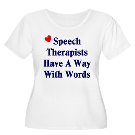 Speech Therapists Women's Plus Size Scoop Neck T-S