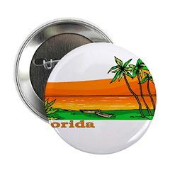 Florida Orange Beach (Dark) Button