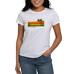 Florida Orange Beach (Dark) Tee