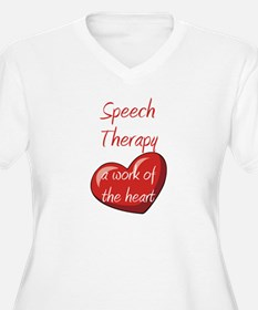 Speech Therapy A Work Of The T-Shirt