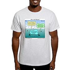 Sharks and Marlin Cartoon T-Shirt