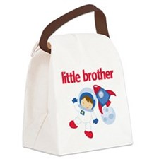 Astronaut Little Brother Canvas Lunch Bag