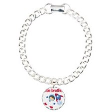 Astronaut Little Brother Charm Bracelet, One Charm