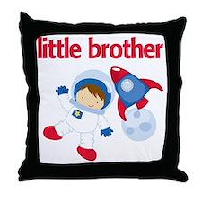 Astronaut Little Brother Throw Pillow