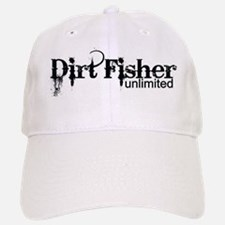 Dirt Fisher Unlimited Baseball Baseball Cap