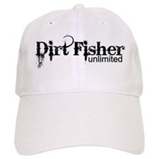 Dirt Fisher Unlimited Baseball Cap