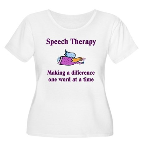 Speech Therapy Making A Diffe Women's Plus Size Sc