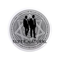 "Supernatural Files 3.5"" Button"