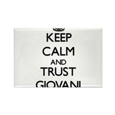 Keep Calm and TRUST Giovani Magnets