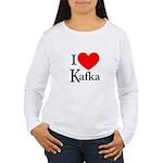 I Love Kafka Women's Long Sleeve T-Shirt