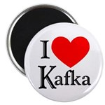 I Love Kafka Magnet