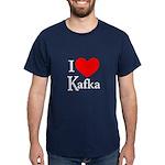 I Love Kafka Dark T-Shirt
