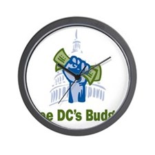 DC Budget Freedom Wall Clock