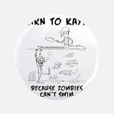"""Zombie vs. Kayaker 3.5"""" Button"""