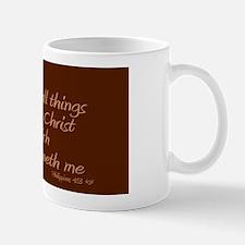 Philippians 4 13 Small Small Mug