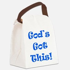 God's Got This B Canvas Lunch Bag