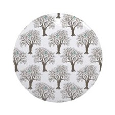 oo Note Cards Round Ornament