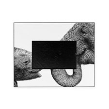 African Elephants Pillow Case Picture Frame