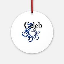 Caleb Round Ornament