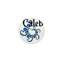 Caleb Mini Button