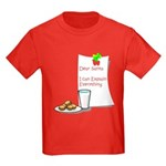Dear Santa Kids Dark T-Shirt