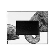 African Elephants Panel Print Picture Frame