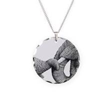 African Elephants Panel Prin Necklace