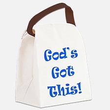 Gods Got This B Canvas Lunch Bag