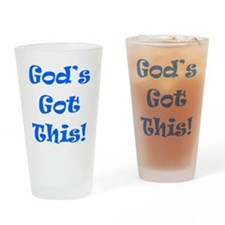 Gods Got This B Drinking Glass