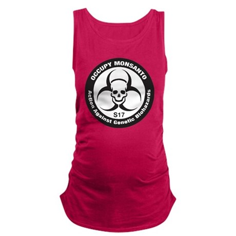 OccupyMonsanto Maternity Tank Top