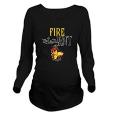 Fire retardANT Long Sleeve Maternity T-Shirt
