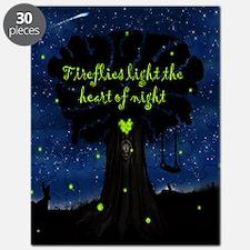 Fireflies light the heart of night SB Puzzle