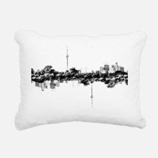 Clear TO Reflection Rectangular Canvas Pillow