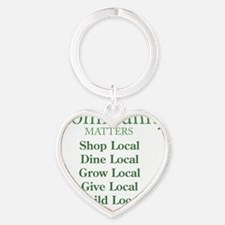 Community Matters Heart Keychain