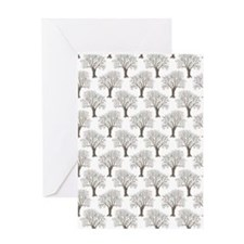 oo Curtains 60 x 84 Greeting Card